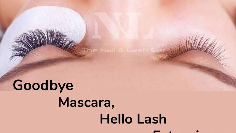 Goodbye  Mascara,   Hello Lash Extensions